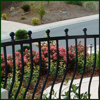 Wrought Iron Railings Grass Valley