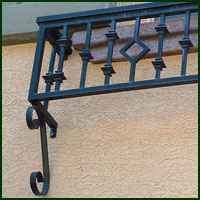Elk Grove, Ornamental Iron