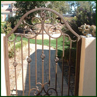 Shingle Springs, Driveway Gates