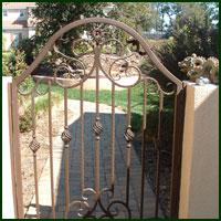 Cameron Park, Driveway Gates